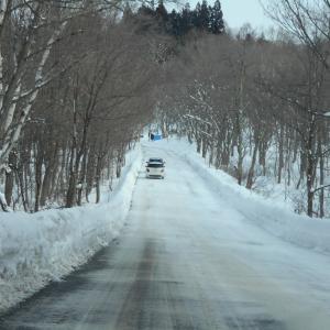 豪雪地帯と冬の日本海