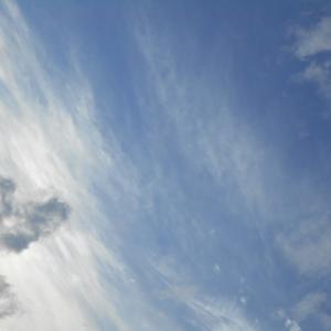 ぶどう峠と秋の空