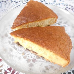 レーズンケーキと平穏な日