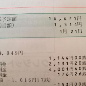 光熱費が去年より2,000円程安かった訳。