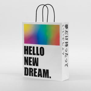 HELLO NEW DREAM.紙袋