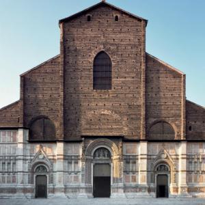 ・ ボローニャのサン・ペトローニオ大聖堂  ファッチャータの完成案