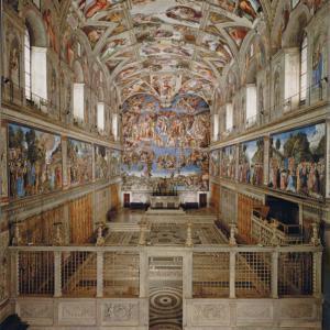・ システィーナ礼拝堂・ヴァティカン、 ミケランジェロの壁画以前は?