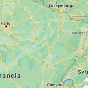 ・ 絵はパスし、 フランスはアルザス州の秋の色、彩を