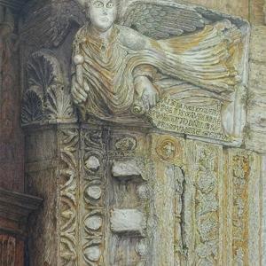 ・ ミケーレ像 もう一度 と、 ルーヴル博物館がティエポロの絵を購入