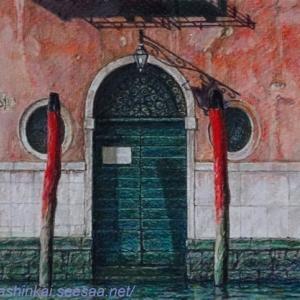 ・ ヴェネツィア 途中経過と、 雪のカステルッチョ、馬たちの避難移動