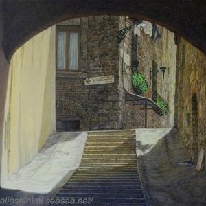 ・ ナルニの小路 途中経過と、 6月2日 イタリアは共和国記念日