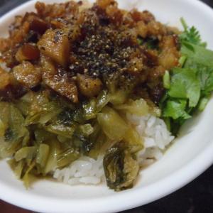 【柳家肉燥飯】新竹に来たら絶対に外せない!新竹都城隍廟にある絶品肉燥飯とビーフン!