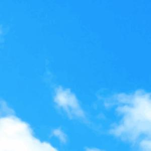 空を見て、思うのは。