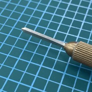 菱刃を研ぎあげました。