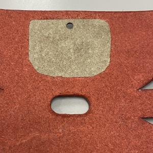 AirpodsPro レザーケースカバー マグネットホックの裏側