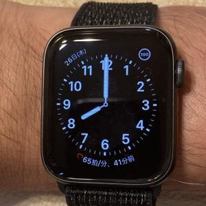 Apple watch seriese5 gpsモデル ディスプレイの「常にオン」の有無の電池持ちを検証