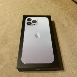 今更ながらのiPhone13 pro max 開封の儀