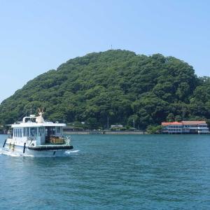 ANA特定航空券で愛媛弾丸2日目 鹿島で泳ぐ