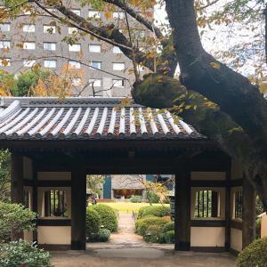 高輪の日本庭園