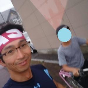 北海道合宿4日目、朝10㎞、昼はえみちゃんと10㎞♪