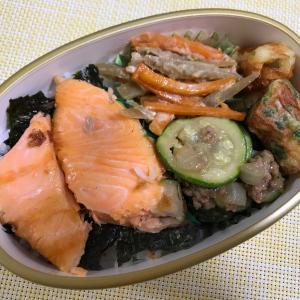 8月7日(金)鮭弁当