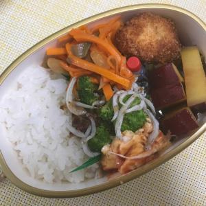 8月7日(水)タラのフライ弁当