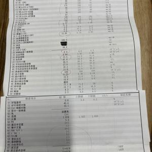 SLE定期検診(2021/01/22)