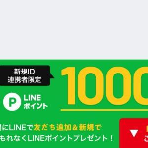 LINEポイント1000と激安ポテトとケーキ