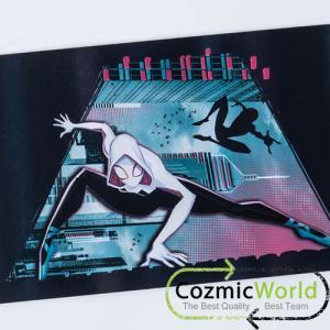 SPIDERMAN マーベル スパイダーマン ニューユニバース ホログラムポストカード集