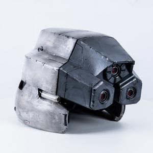 ファイナルファンタジー7 神羅兵 フルフェイスマスク コスプレ小道具