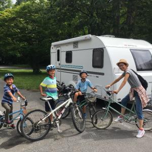 夏休みキャラバン2019 「奥入瀬渓流サイクリング、谷地温泉」