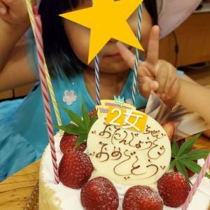2女の誕生日