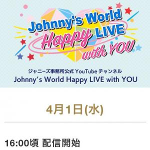 Johnnys World Happy LIVE