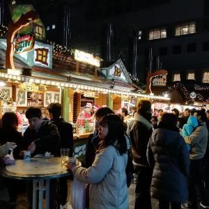 クリスマスマーケット 梅田スカイビル