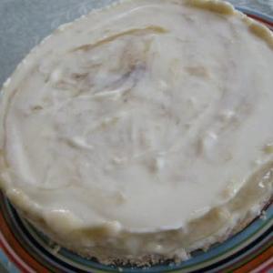 ルバーブのチーズケーキ