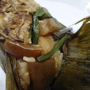 【テイクアウト】まるで中華街のような肉まんとちまき!茶寮の食べてみたじょ(๑ÒωÓ๑)