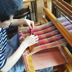 6月の織物活動②