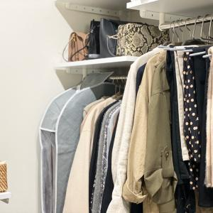 見た目も中身もすっきりなシーズンオフの衣類収納見ーつけた!