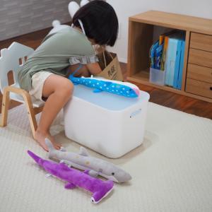 『え、それでいいの?』子どもに使いやすい!と思った収納のカタチ。