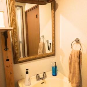 【課題】洗面脱衣室、ここにもディアウォールを。