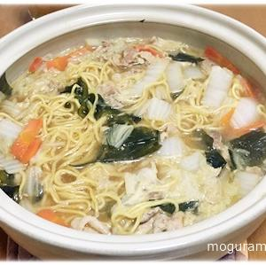 白菜と豚肉のうどん鍋/煮込みラーメン醤油(ランキング)