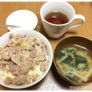 豚カルビ丼/うどん鍋