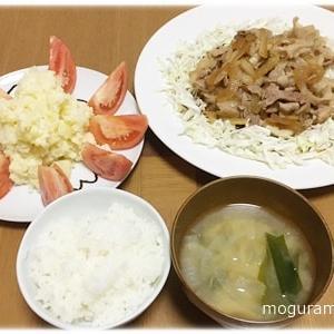 【豚肉】豚キムチ と 豚肉の生姜焼き