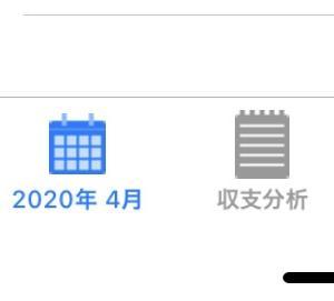 2020年4月の収支公開
