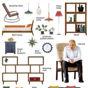 ハロルドが笑うその日まで。 引越しできないIKEAの家具