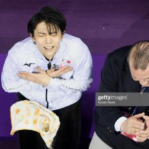今日、平昌五輪金メダル2周年記念~。(*^^*)