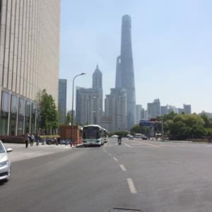 きょうの上海@お出かけ前
