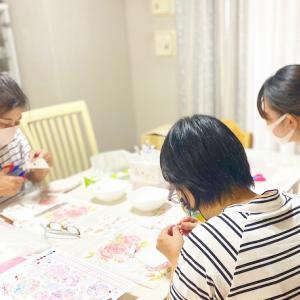 【レッスンレポート】親子3人で同じ趣味を楽しむ大切な時間♡