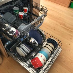 食洗機稼働!