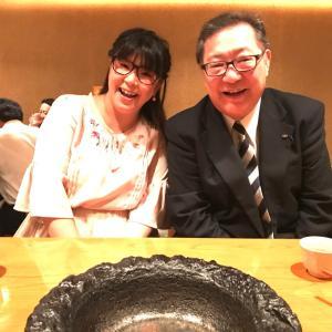 ✴︎コメンテーターの角谷浩一さんと2人ご飯