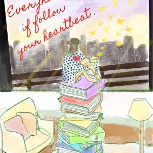 ✴︎天秤美子さんに星読みバースデーアートして頂きました