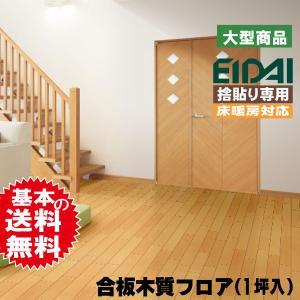 永大フロア材 床暖房用 ニューハイビーチDX NXBD-LB/X 27kg/1坪入 (A品) 送