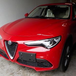 高カッコイイ車を初めて売ったんです。ご成約ありがとうございます。アルファロメオ ステルヴィオ