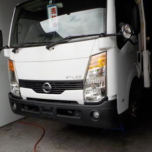 会社も大きく、トラックも大きく。ご成約 日産 アトラス トラック 2トン 恵庭 千歳 中古車